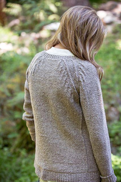Пуловер Fletching от дизайнера Jared Flood из BT Fall 15 (Бруклин Твид осень 2015).