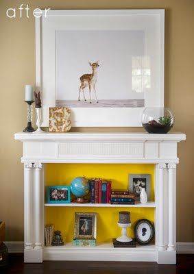 Judson Knows Best: Repurposed: Mantle Bookcase