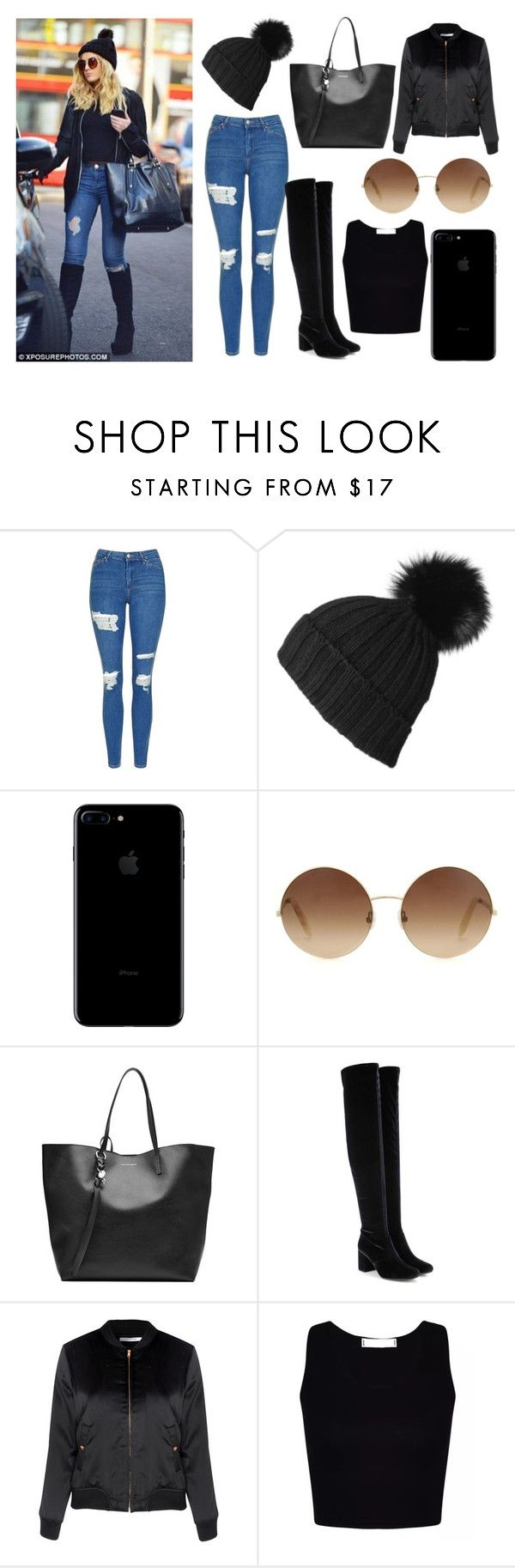 """""""Inspiration- Perrie Edwards"""" by jessyca-sc ❤ liked on Polyvore featuring Topshop, Black, Victoria Beckham, Alexander McQueen, Yves Saint Laurent, Glamorous, beautiful, inspiration and allblack"""