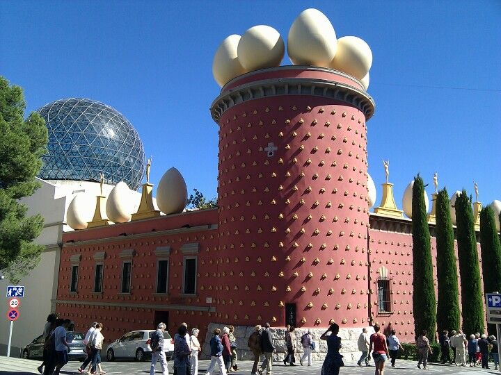 Teatre-Museu Salvador Dalí à Figueres, Cataluña