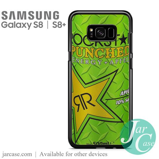 rockstar energy drink apple punched Phone Case for Samsung Galaxy S8 & S8 Plus