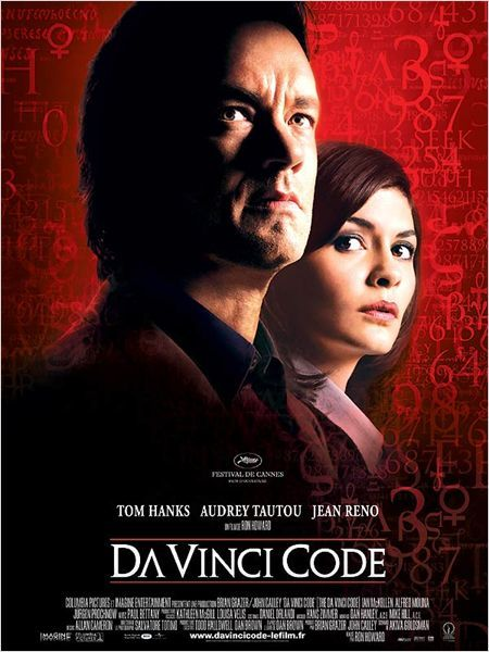 Da Vinci Code - 2006 - directed by : Ron Howard - cast : Tom Hanks, Audrey Tautou, Jean Reno, Ian McKellen, Alfred Molina, Paul Bettany, Jean-Pierre Marielle, Etienne Chicot