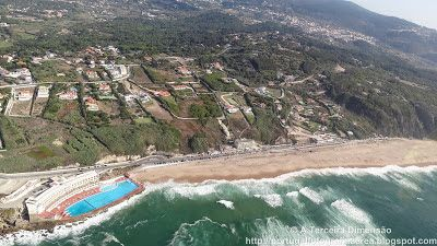 A Terceira Dimensão - Fotografia Aérea: Praia Grande (Sintra)