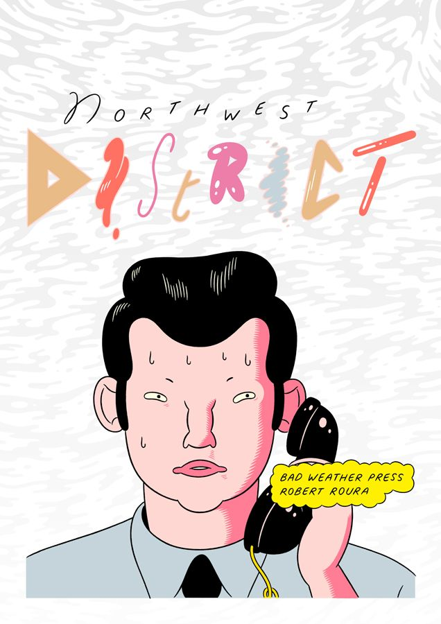 Northwest district Comic / Xeroxed on quality paper, Northwest district is a chronicle about city, cars, corrupt cops and the unknown universe. Spanish dialogues / 16,7 cm x 23,8 cm / 24 pages Published on May 2014  by Robert Roura Riquelme