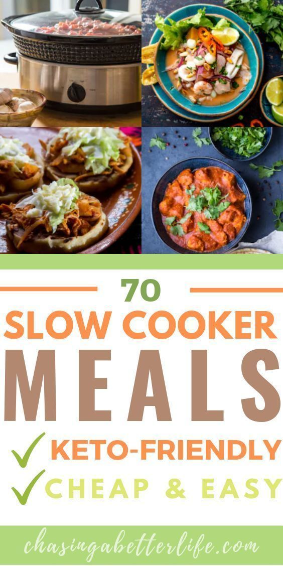 Keto Slow Cooker: 70 Recipes You Need In Your Life