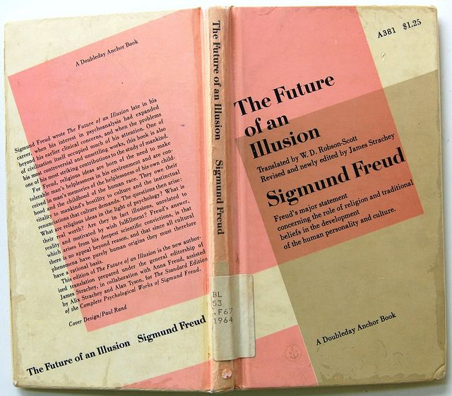 freud cover by paul rand