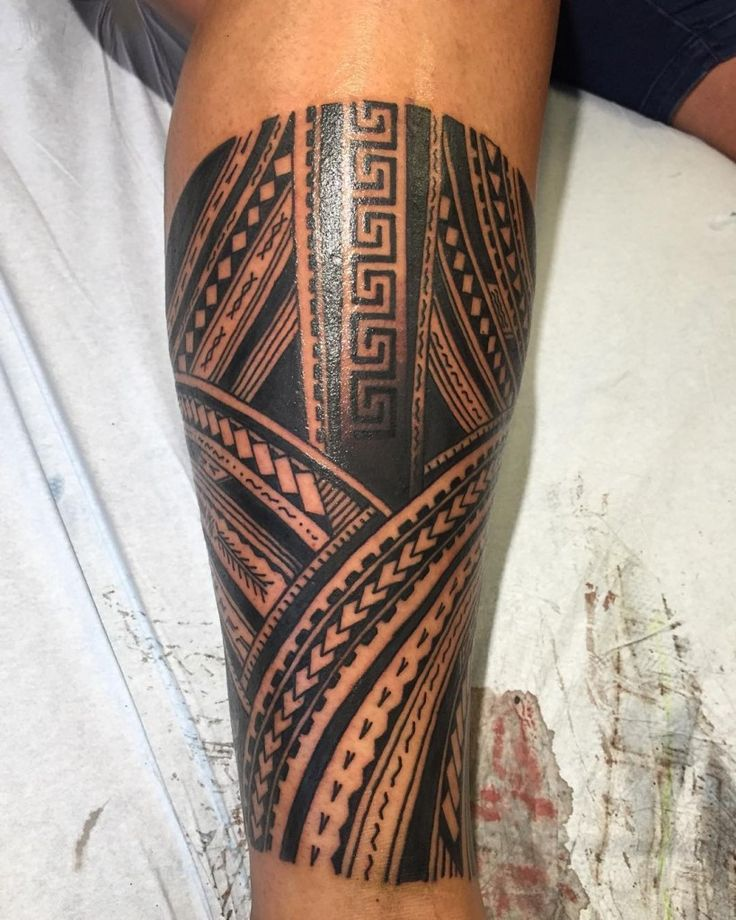 39 best tribal thigh tattoos images on pinterest tribal for Tribal tattoos on leg
