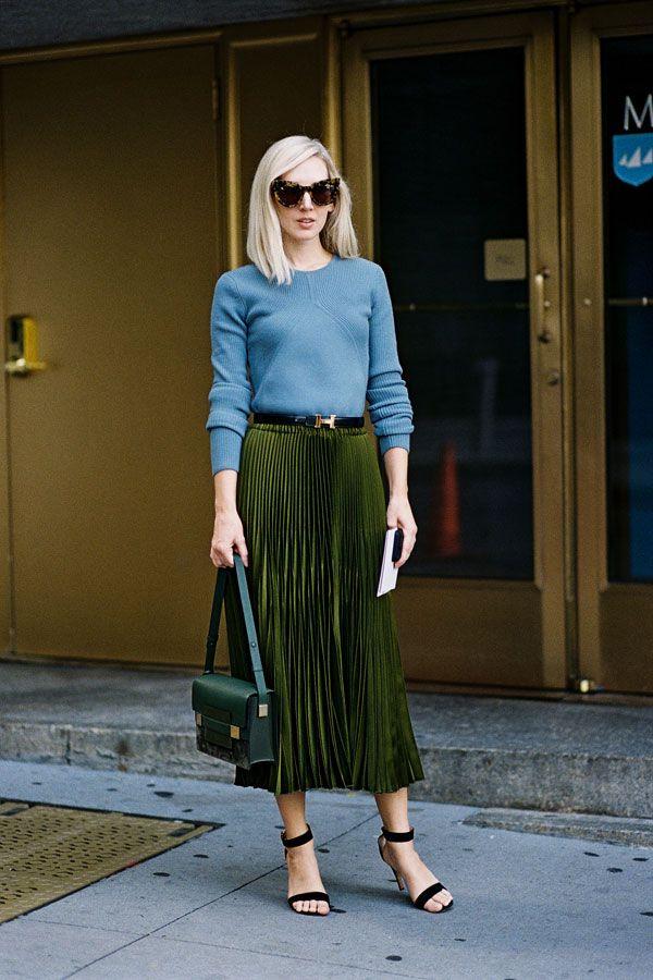 Love everything, but pass on the glasses.  Need that skirt! Jane Keltner de Valle 2015