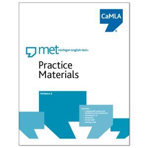 Official MET Practice Materials, Volume 2.