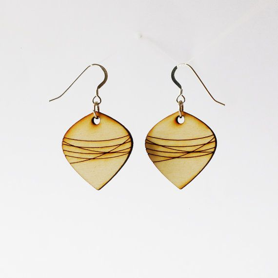 Hey, I found this really awesome Etsy listing at https://www.etsy.com/listing/115737666/wooden-striped-earrings-laser-cut