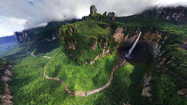 Kerepaku Meru (Angel Falls), Venzuela
