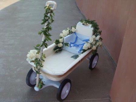 Dsc01953 Wagon For Wedding Flower Girl Wagon Ring Bearer Wagon