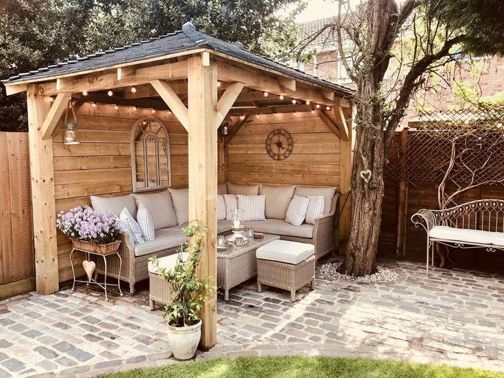 astounding garden seating ideas native design | 46 Amazing Gazebo Design Ideas For Your Backyard | Outdoor ...