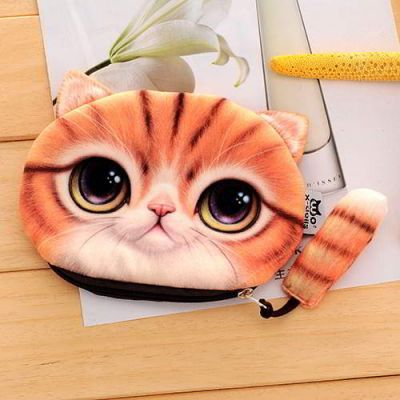 Kitten Cartoon Cat Pattern Decorated 3D Design Yellow. Cute and elegance REPIN if you agree.😊 Only 76.5 IDR