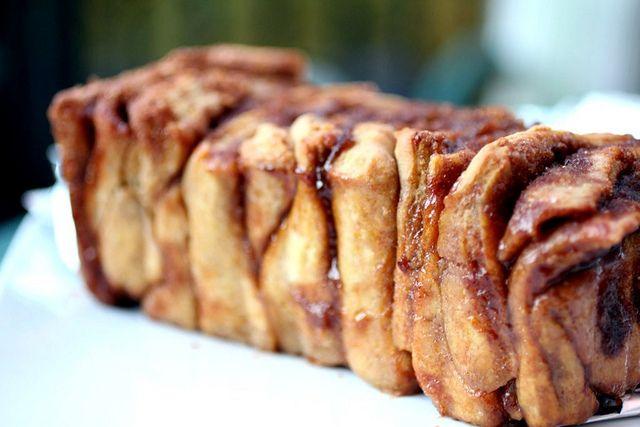 bake this now: pumpkin pull-apart bread (first of two pumpkin bread triumphs!) | love.life.eat: Pumpkin Breads, Breads Triumph, Yeast Breads, Cinnamon Breads, Pumpkin Pull Apartment, Pull Apartment Breads, Pullapart Breads, Favorite Recipes, Pumpkin Pullapart