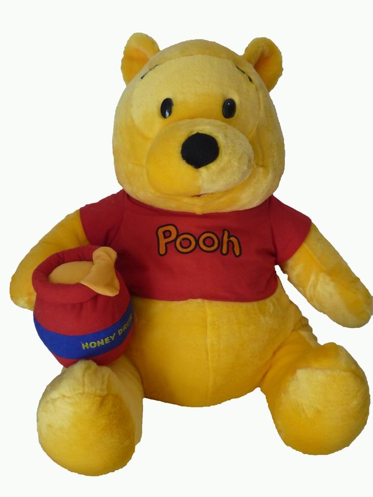 Pooh Doll, Material from Veltboa, Full Dacron, Safe for kids.  http://bonekabandung.com  $50