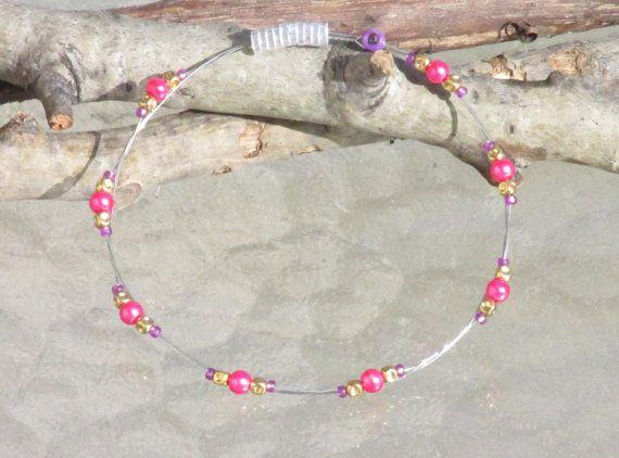 Guitar String Bracelet Bangle Bracelet by SimplyBeadifulDesign