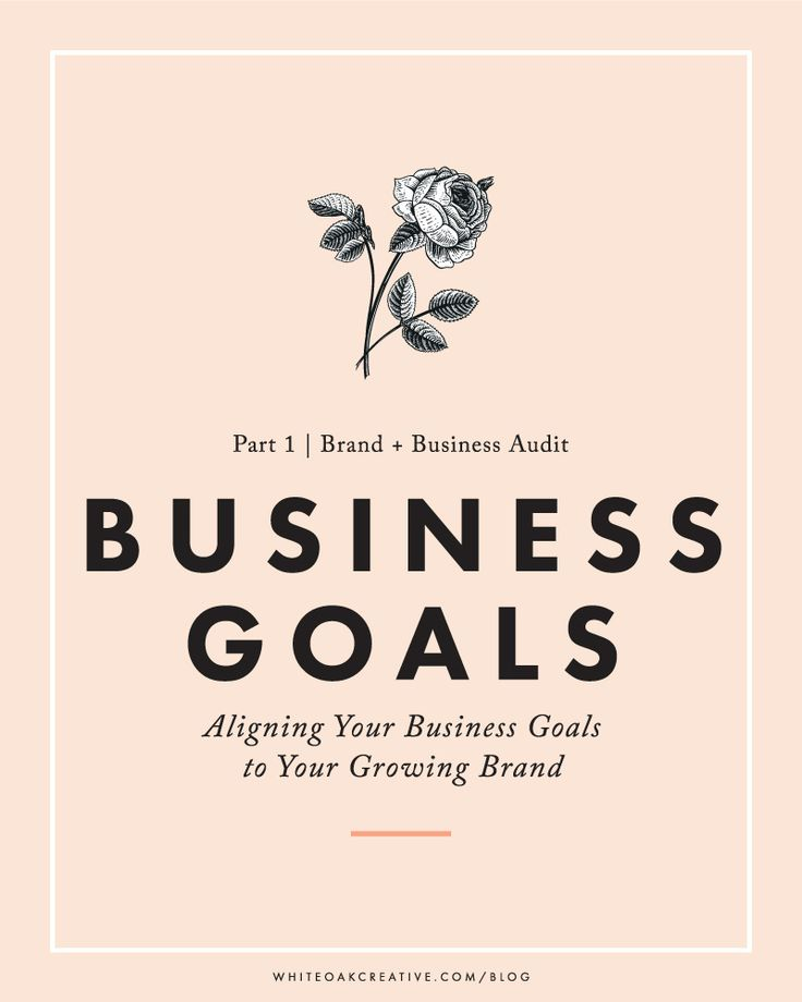 Step 1 of Brand Audit: Creating meaningful and purposeful business goals
