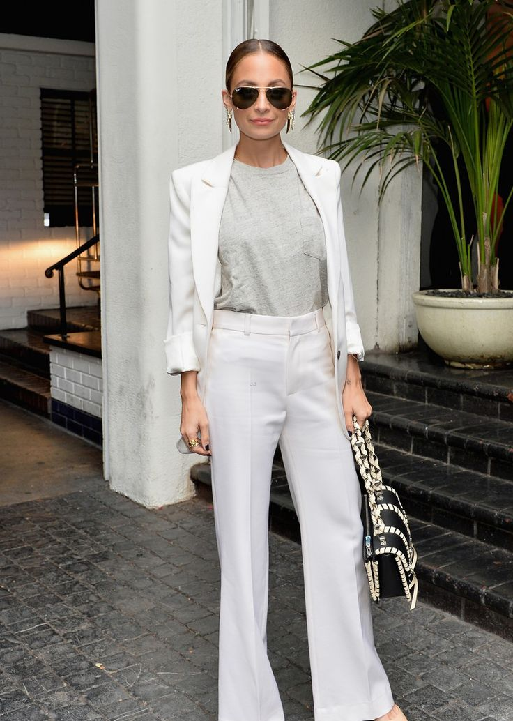 Nicole Richie at the CFDA/Vogue Fashion Fund Show and Tea in LA.