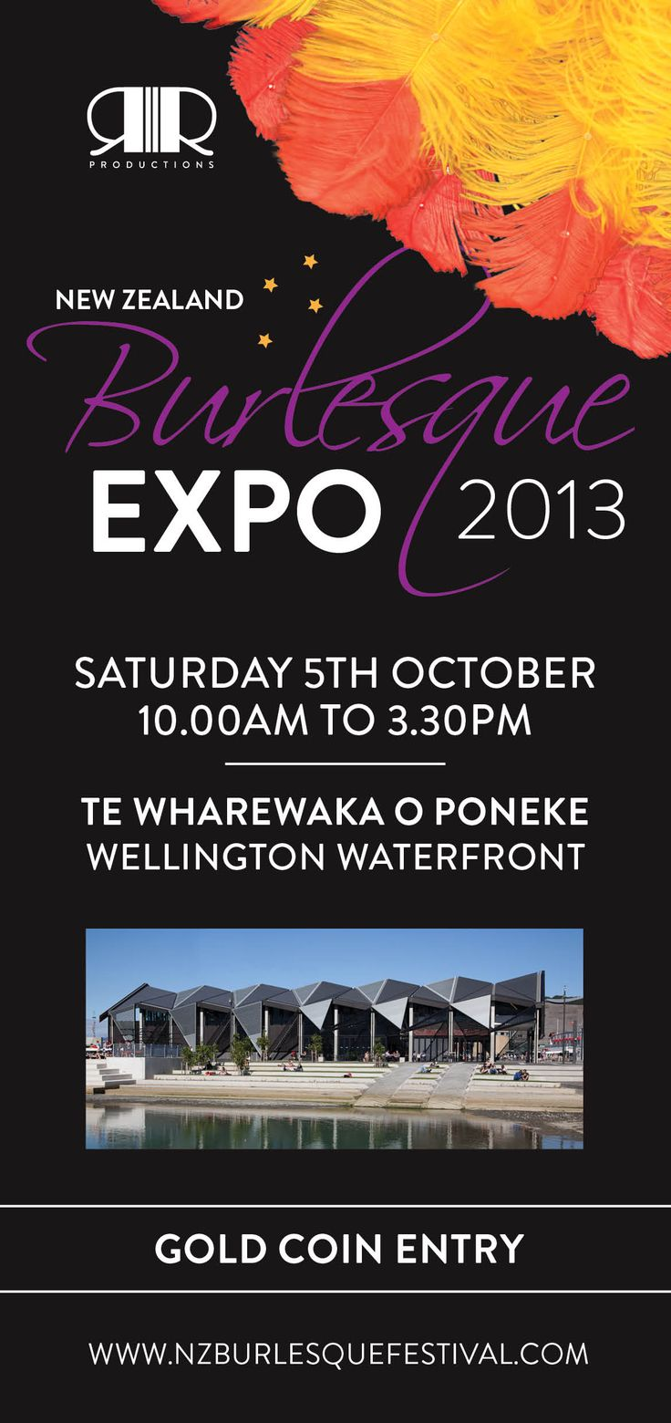 Come to the Expo #NZBF13