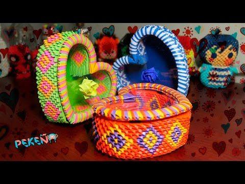 HeartBox 3D Origami | Pekeño ♥ - YouTube