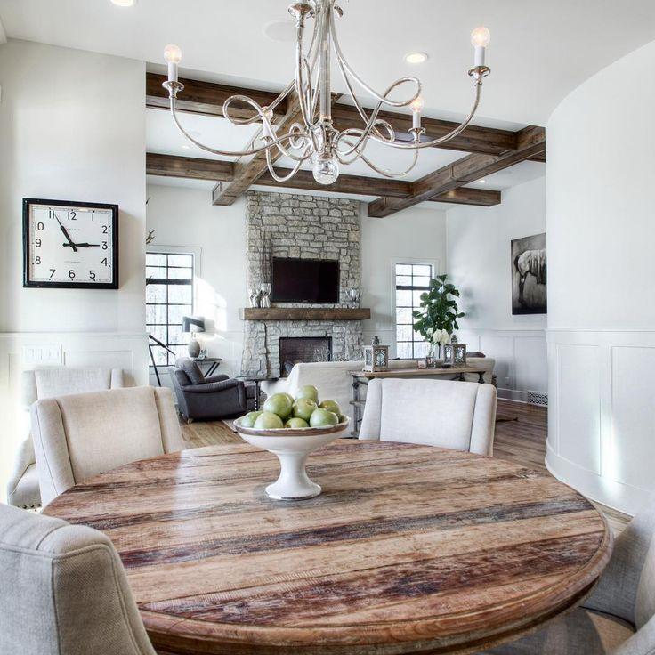 Dining Area Leading Into Living Room By Melissa Manzardo Hryszko Verandainterior Calgary