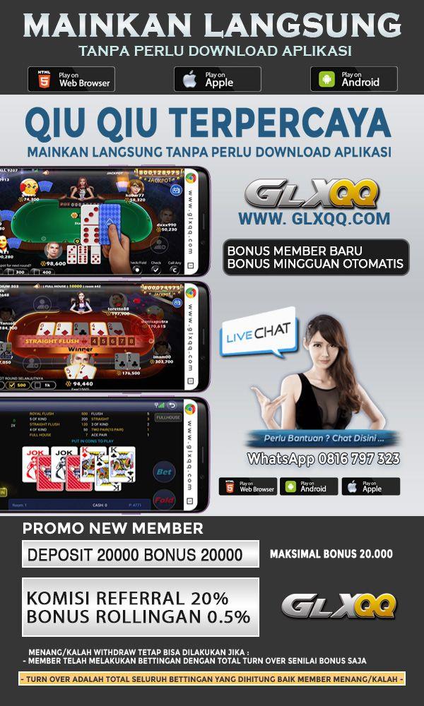 Domino Poker Bola Tangkas Terpercaya Poker Aplikasi Pelayan
