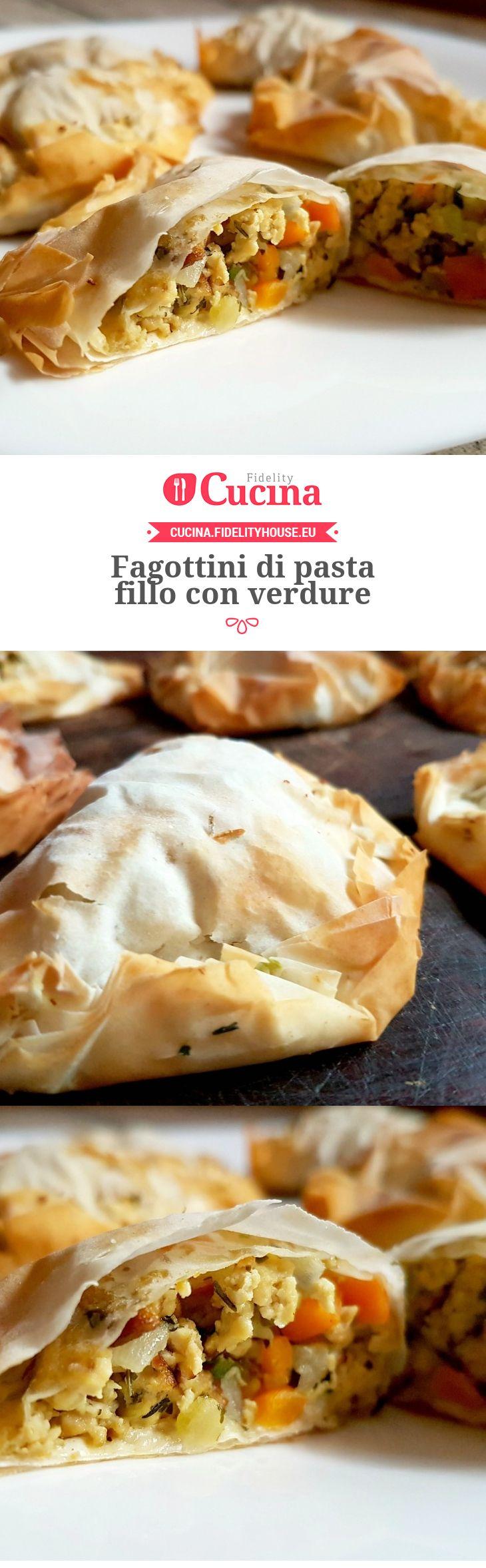 #Fagottini di pasta fillo con #verdure della nostra utente Monica. Unisciti alla nostra Community ed invia le tue ricette!