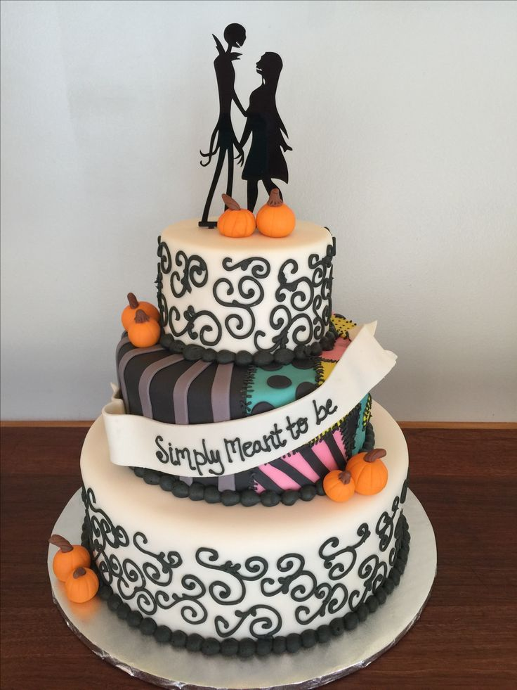 The 25 best nightmare before christmas wedding ideas on pinterest nightmare before christmas wedding cake junglespirit Image collections