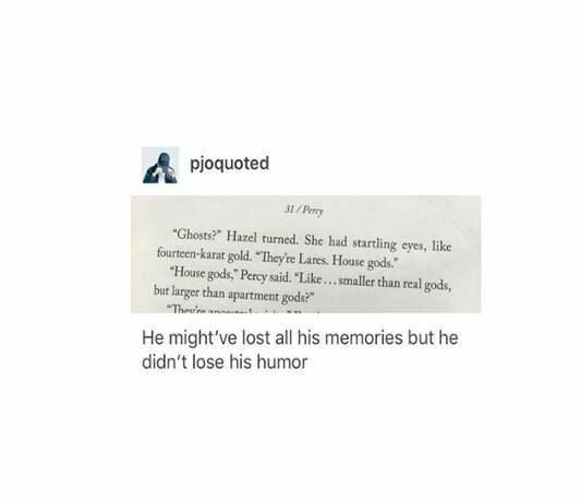 #PJO #HoO | Percy Jackson | House gods | Hazel Levesque | Son of Neptune Quotes