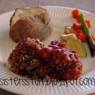 Porcupine meatballs on Pinterest