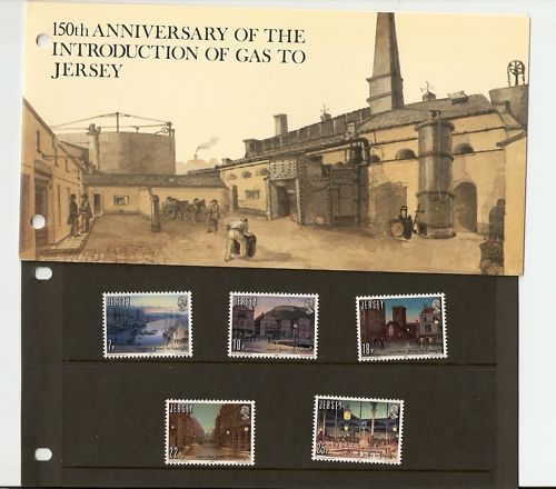 JERSEY Presentation Pack introduzione dell' illuminazione a gas in Stamps, Great Britain, Regional Issues, Jersey | eBay