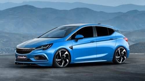 Feed your Opel Astra OPC hunger with Irmscher's styling and performance upgrades