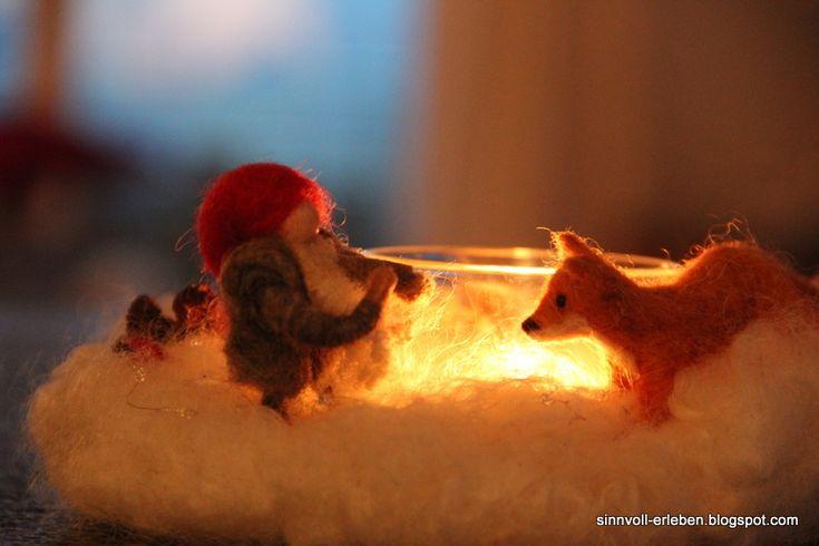 sinnvoll erleben - sinnvoller leben: Januarkranz: Tomte und der Fuchs