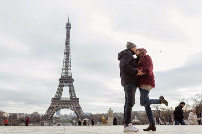 Torre Eiffel/ Tour Eiffel / The Eiffel Tower / Photography / Fotografía / Love / Amor / Amour / pareja / boyfriends / kiss /besos/