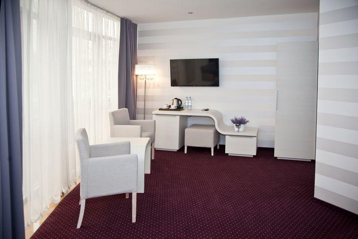 #hotel #poznań #lavender #room