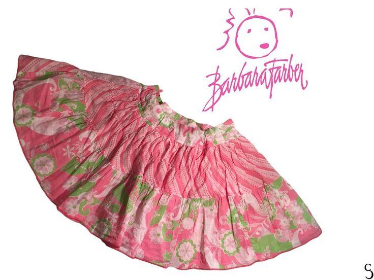 Barbara Farber Girls Amazing Pink Multicolor Skirt _ Size: 128 #BarbaraFarber #DressyEverydayHolidayEveryOccasion