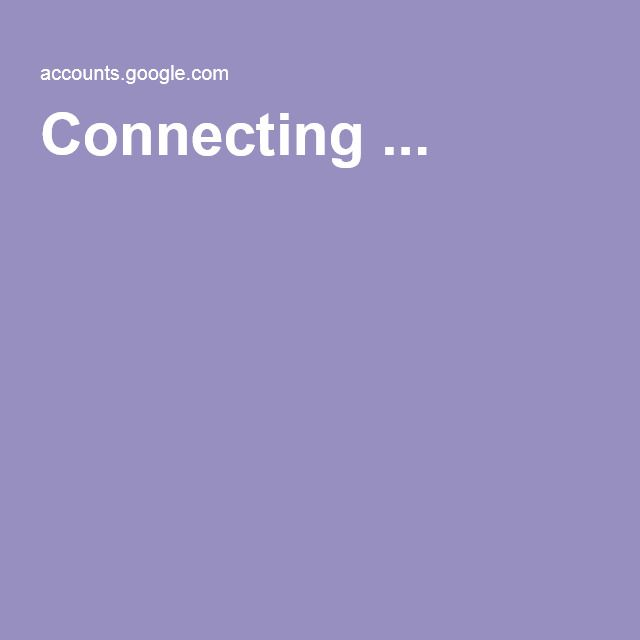 Connecting ...