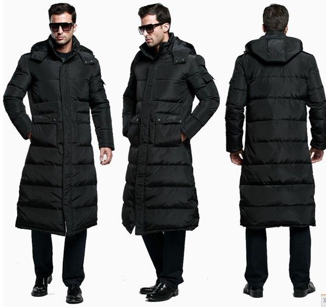 Long Length Down Filled Coat | Down Coat
