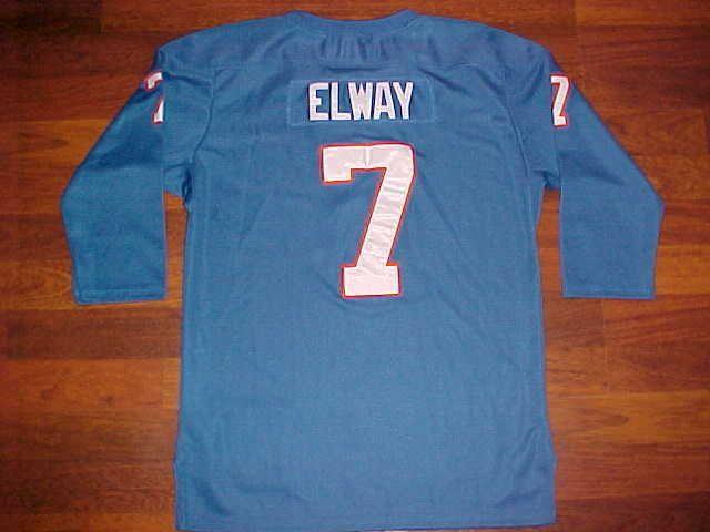 Mitchell Ness NFL AFC 1994 Denver Broncos John Elway #7 YOUTH Football Jersey L  #MitchellNess #DenverBroncos