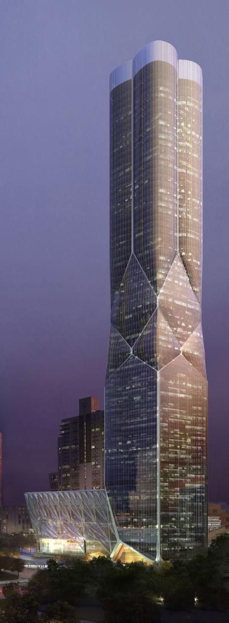 Este será el rascacielos más singular de toda la ciudad de Nueva York.