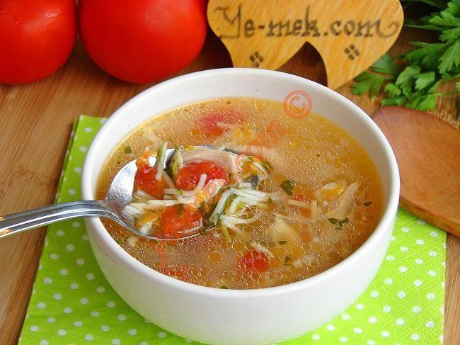 Sebzeli Köy Tavuğu Çorbası Resimli Tarifi - Yemek Tarifleri