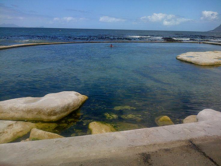 Swimming at Dalebrook tidal pool
