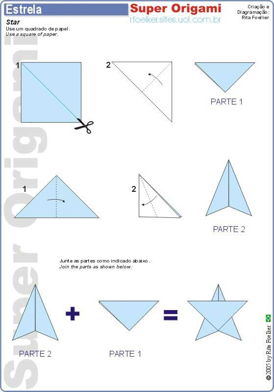 How To Make Dollar Origami Star