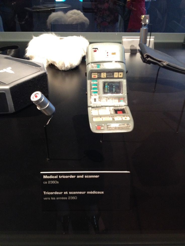 A prop from the Star Trek: The Starfleet Academy Experience at the Aviation Museum, summer 2016. Bring it on any away missions!