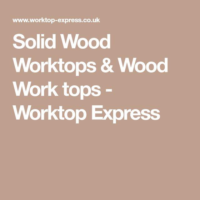 Solid Wood Worktops & Wood Work tops - Worktop Express