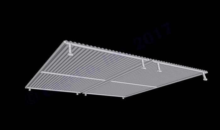 Single Dog Kennel Panel Dog Kennel Solid Roof Panel 10 X10 Rhino Dog Kennels Metal Dog Kennel Dog Kennel Roof Dog Kennel