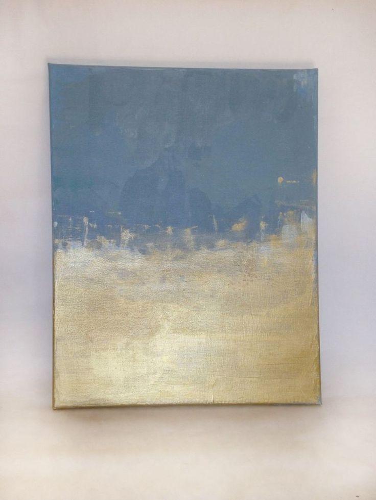 Acrylic abstract art, interior decor 50x40 cm  | eBay