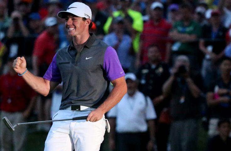 8-10-2014 Rory McIlroy, age 25, Wins PGA Championship
