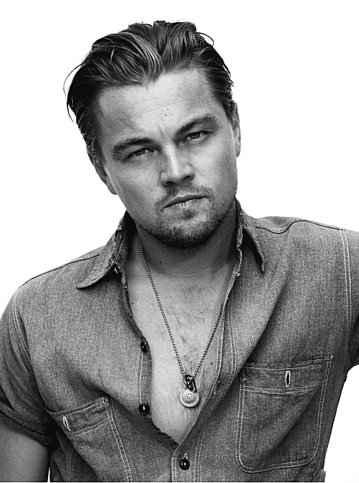 Leonardo Di Caprio... good gawd... some things get better with age... ;)